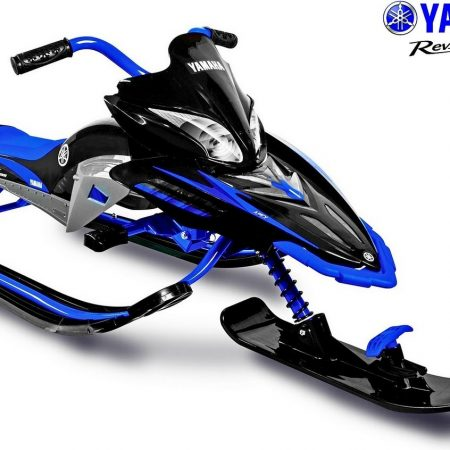 YM13001 Снегокат YAMAHA Apex SNOW BIKE Titanium black/blue