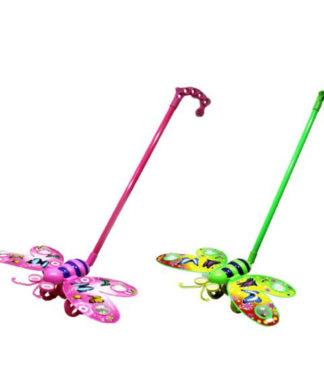 Детская каталка на палочке Бабочка Shantou 96001