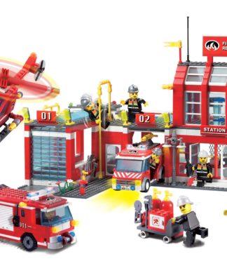 Детский конструктор Fire Rescue Пожарная станция