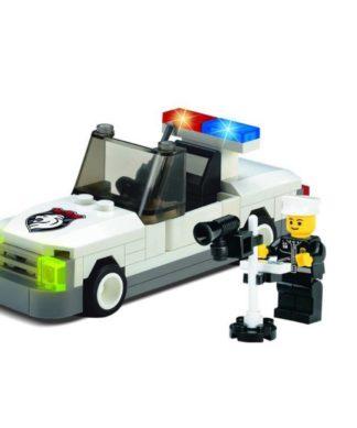 Игровой конструктор Полиция - Автомобиль с радаром