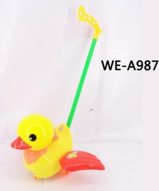 Игрушка для малышей. Каталка Утенок Junfa Toys 251