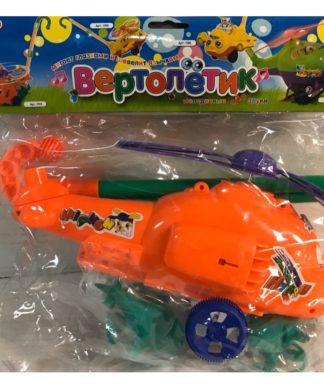 Игрушка-каталка Вертолет на палочке