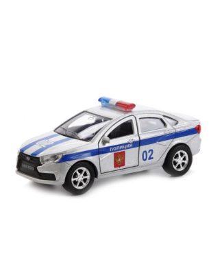 Инерционная машина Лада Веста - Полиция