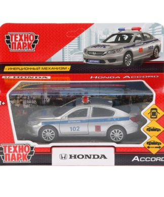 Инерционная машинка Honda Accord - Полиция