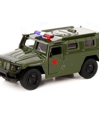 Инерционная металлическая модель ГАЗ Тигр - Военный джип