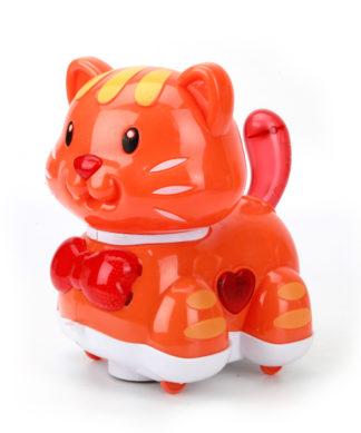 Интерактивная игрушка-каталка Кошка (свет