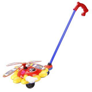 Каталка на палочке Солнышко (звук) Наша игрушка 363