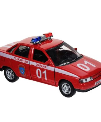 Коллекционная машинка Lada 110 - Пожарная охрана