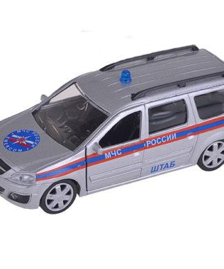 Коллекционная модель Lada Largus МЧС - Штаб