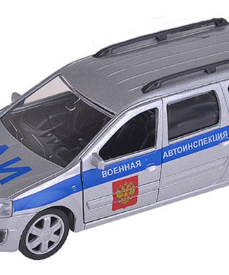 коллекционная модель Lada Largus Военная автоинспекция