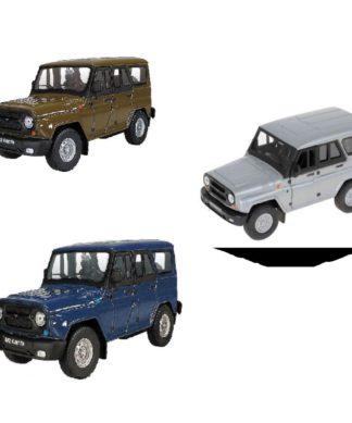 Коллекционная модель машинки УАЗ Hunter