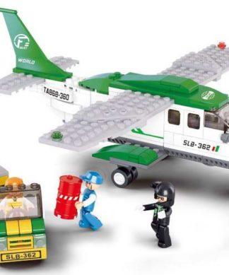 Конструктор Авиация - Грузовой самолет и погрузчик