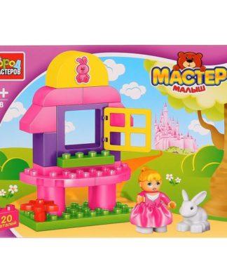Конструктор Большие кубики - Девочка с кроликом