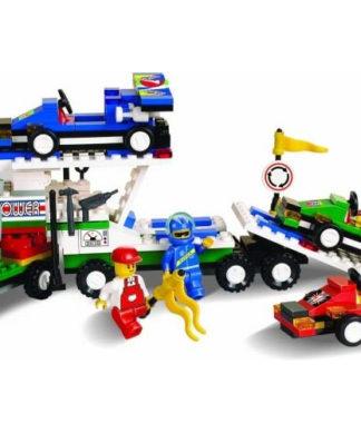 Конструктор Формула-1 - Трейлер с фигурками