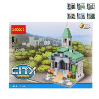 Конструктор Городские здания Наша игрушка 1120-1125