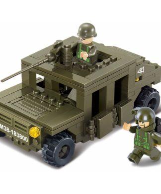 Конструктор Land 2 Forces - Военный автомобиль