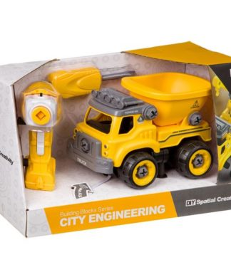 Конструктор-машина на р/у City Engineering Shenzhen Toys М96078