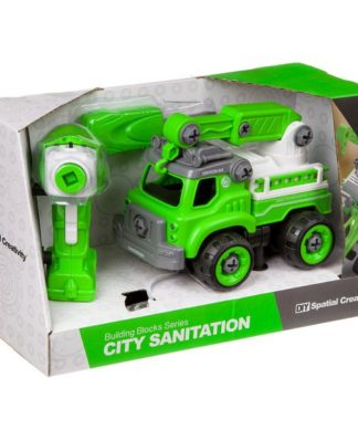 Конструктор-машина на р/у City Sanitation Shenzhen Toys М96084