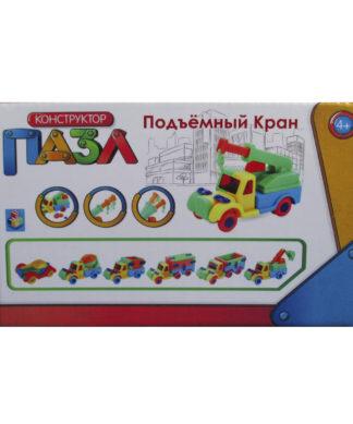 Конструктор-пазл Подъемный кран