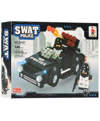 Конструктор Полиция - Машина спецназа