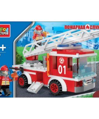 Конструктор Пожарная машина Город мастеров 3509