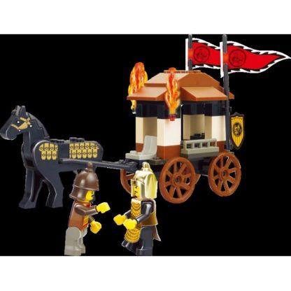 Конструктор Три королевства - Повозка воинов