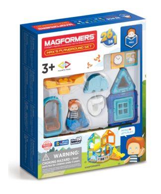 Магнитный конструктор 26 в 1 Max's Playground Magformers 705008