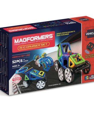 Магнитный конструктор Magformers р/у - Cruiser Set (на бат.)