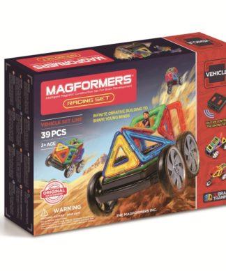 Магнитный конструктор Magformers р/у - Racing Set (на бат.)