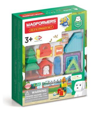 Магнитный конструктор Milo's Mansion Magformers 705011