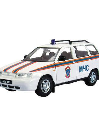 Масштабная модель автомобиля Lada-111 - МЧС