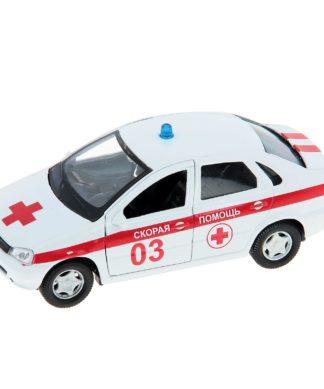 Масштабная модель автомобиля LADA Kalina - Cкорая помощь
