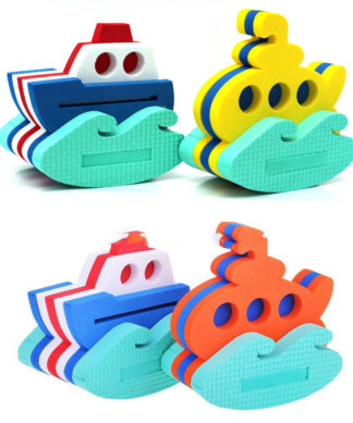 Набор из 2 игрушек-конструкторов Кораблик и подводная лодка El Basco 03-004