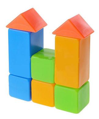 Выдувной конструктор Кубики